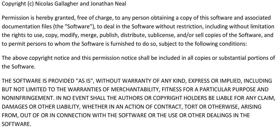 persons to whom the Software is furnished to do so, subject to the following conditions: The above copyright notice and this permission notice shall be included in all copies or substantial portions
