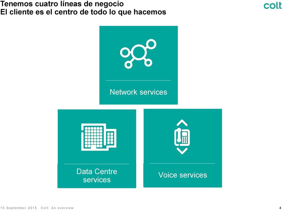 hacemos Network services Data Centre