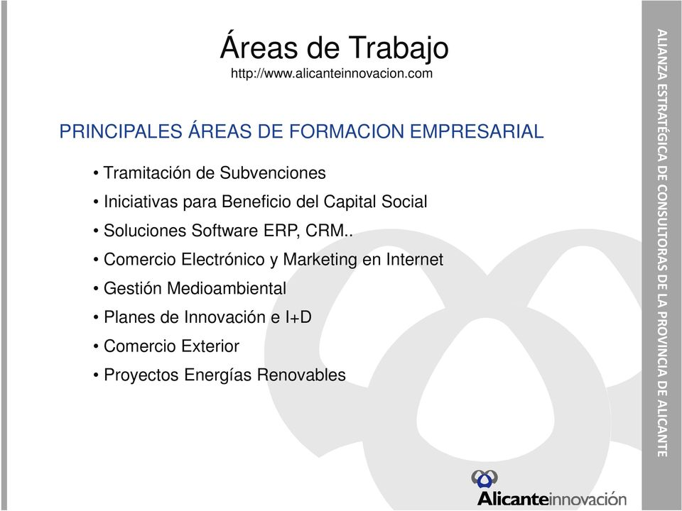 Software ERP, CRM.