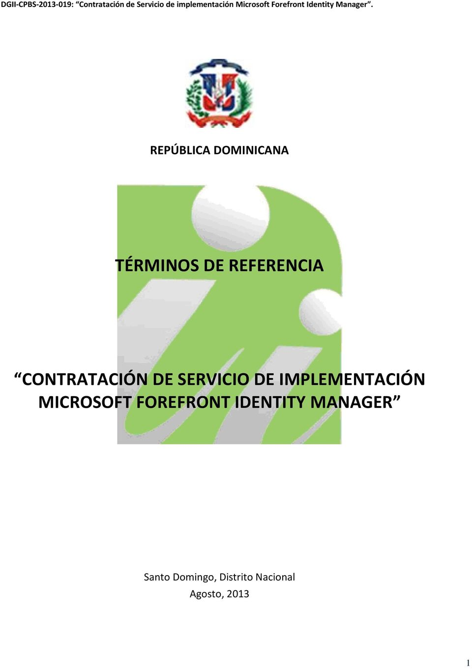 IMPLEMENTACIÓN MICROSOFT FOREFRONT