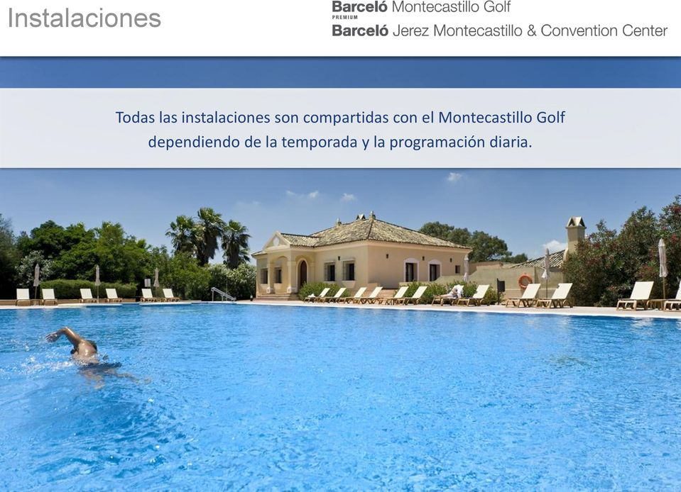 el Montecastillo Golf dependiendo