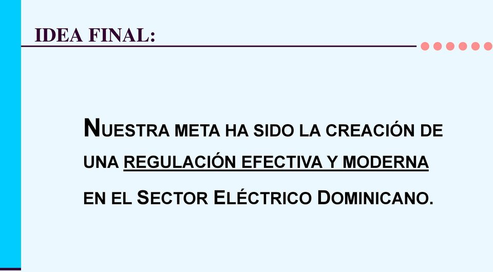 REGULACIÓN EFECTIVA Y