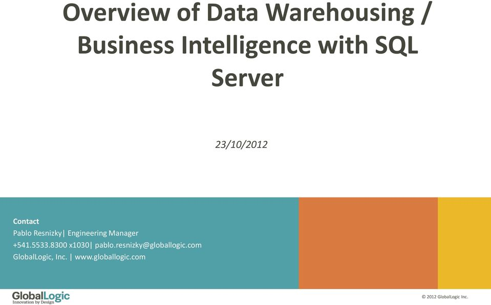 what is data warehouse pdf