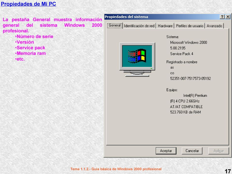 Windows 2000 profesional.