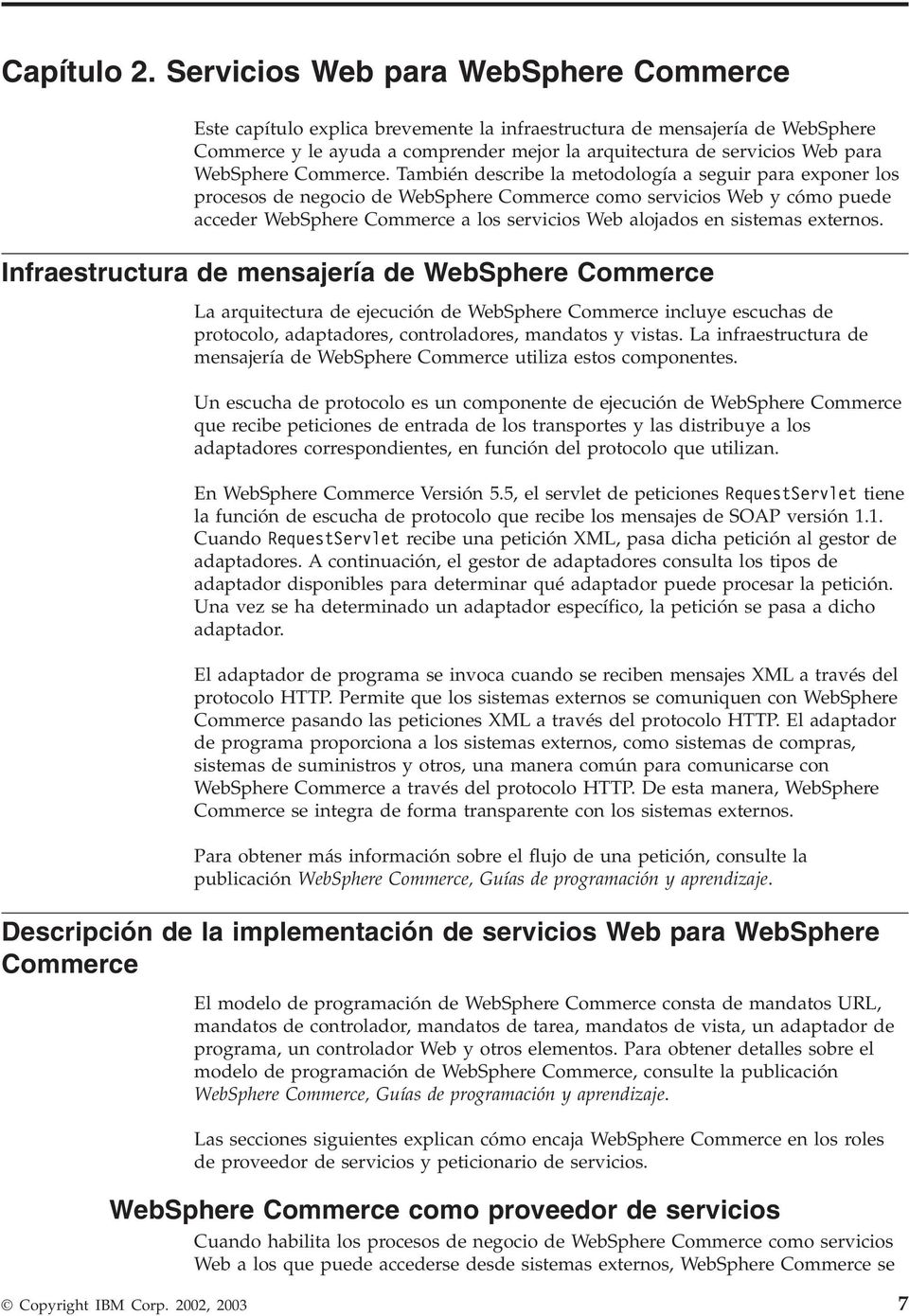 WebSphere Commerce.