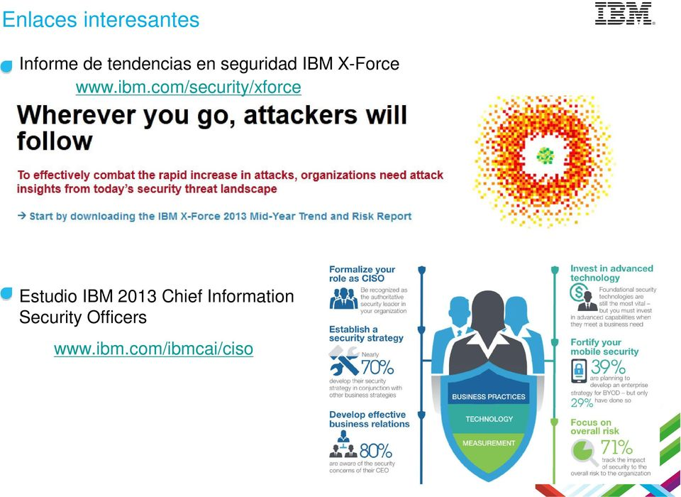 com/security/xforce Estudio IBM 2013 Chief