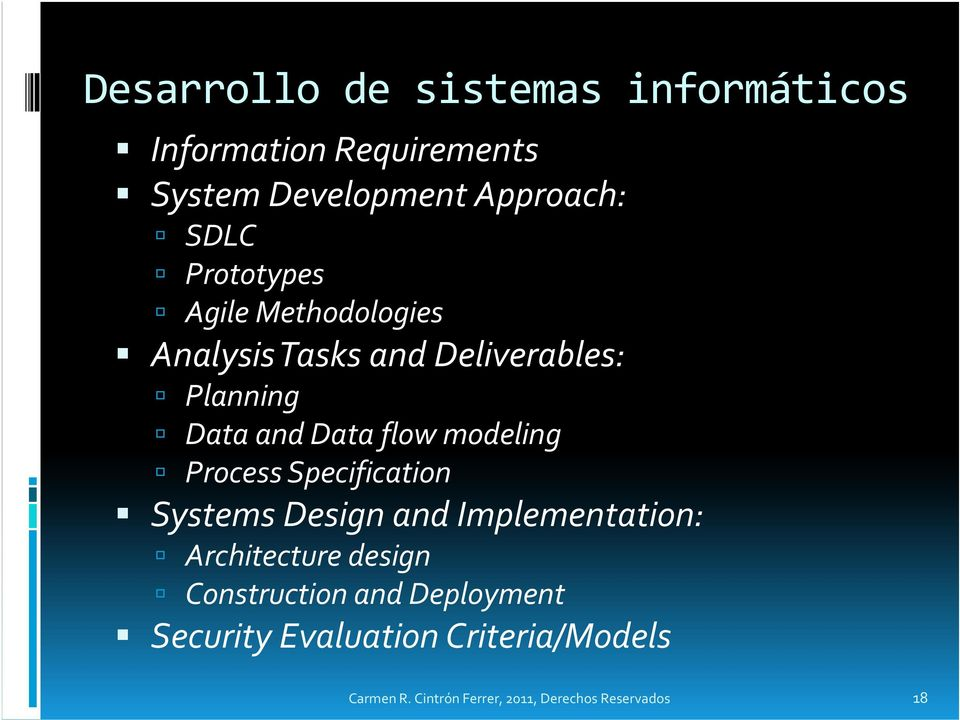 modeling Process Specification Systems Design and Implementation: Architecture design