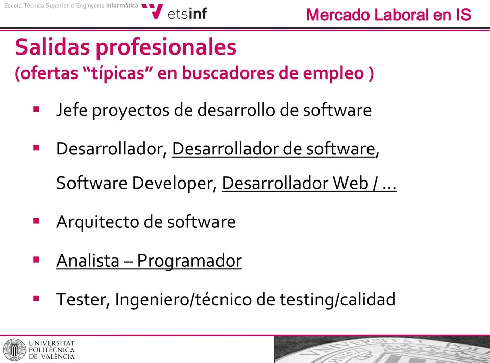 software, Software Developer, Desarrollador Web / Arquitecto de software