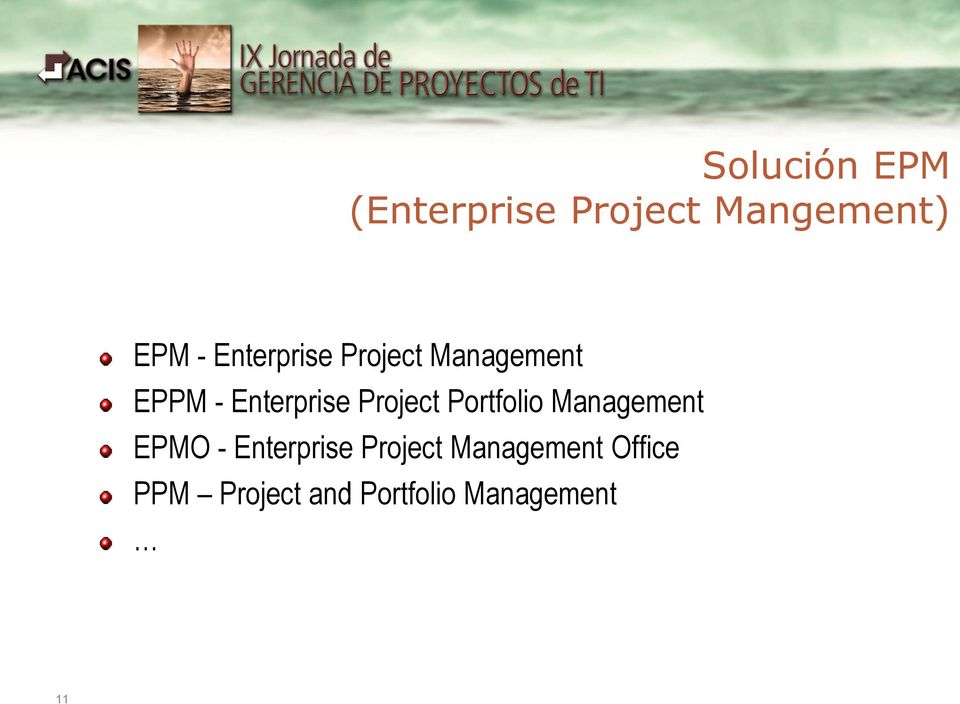 Project Portfolio Management EPMO - Enterprise