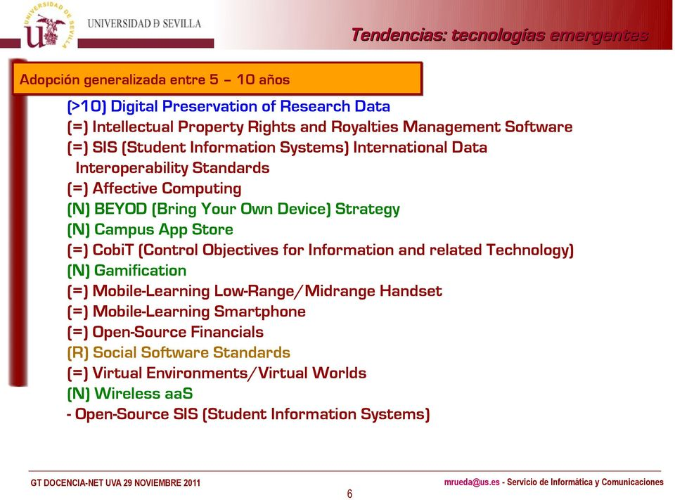 Store (=) CobiT (Control Objectives for Information and related Technology) (N) Gamification (=) Mobile-Learning Low-Range/Midrange Handset (=) Mobile-Learning