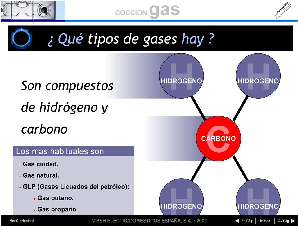son Gas ciudad. Gas natural.