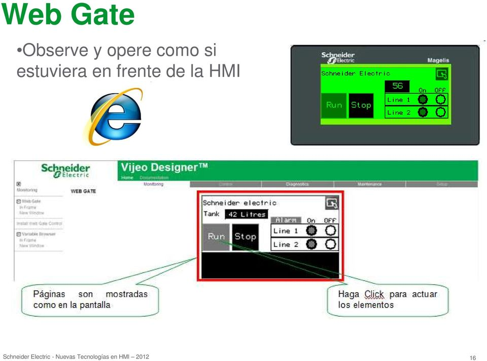 HMI Schneider Electric -