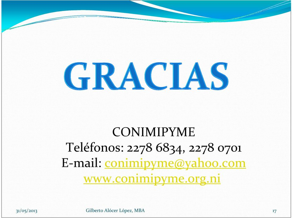 mail: conimipyme@yahoo.