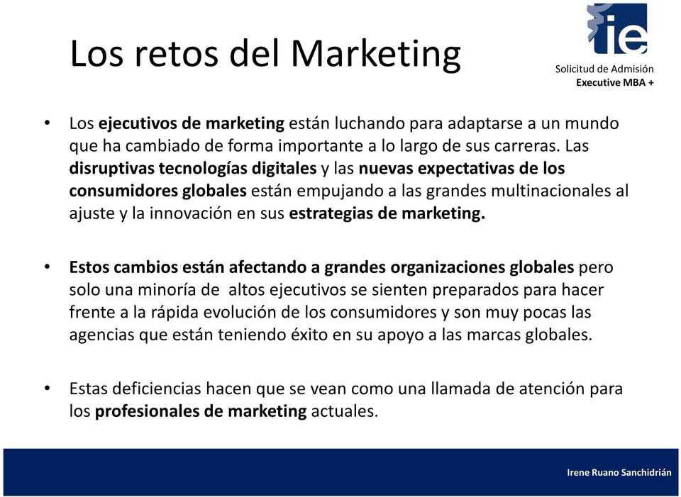 estrategias de marketing.