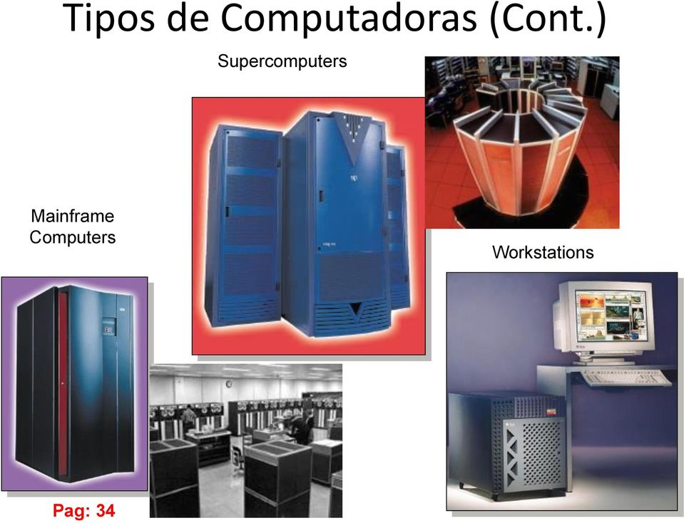 ) Supercomputers