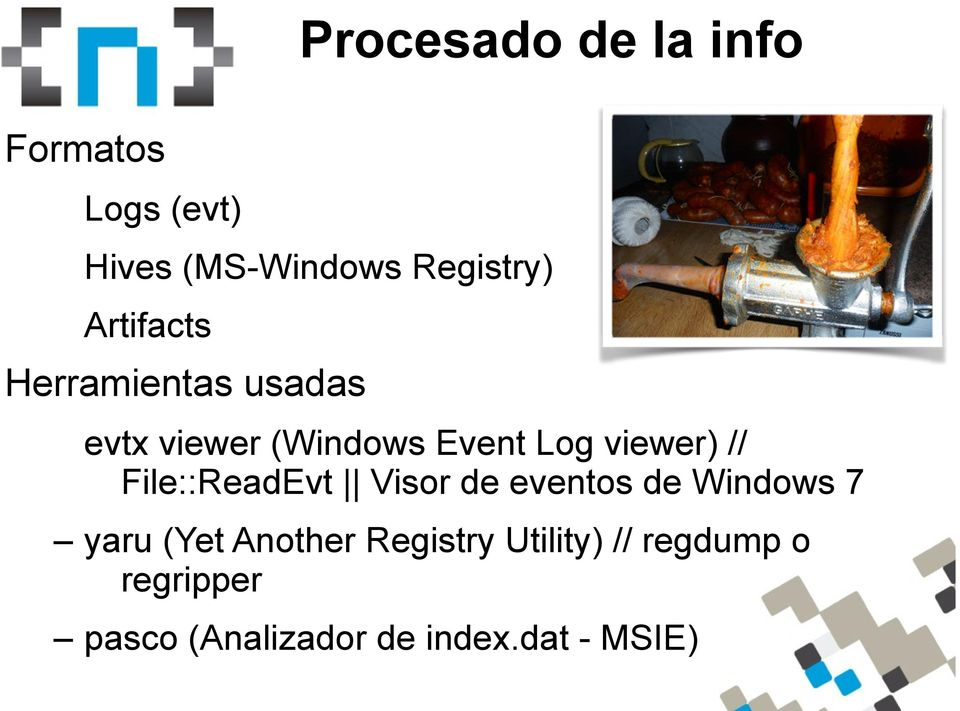 // File::ReadEvt Visor de eventos de Windows 7 yaru (Yet Another