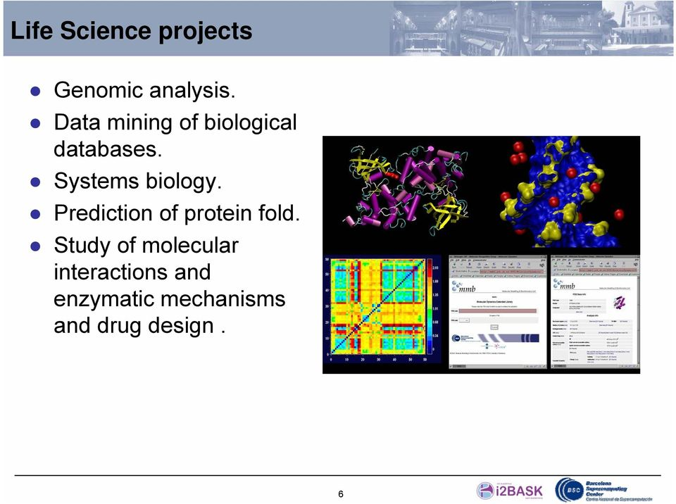 Systems biology. Prediction of protein fold.