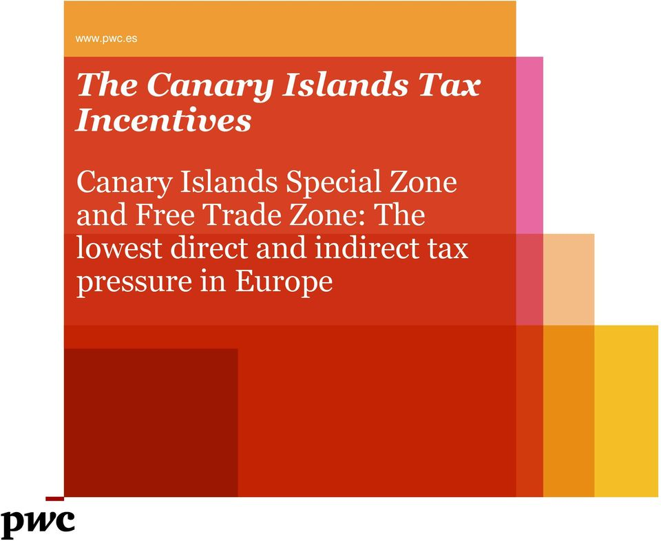 Canary Islands Special Zone and Free