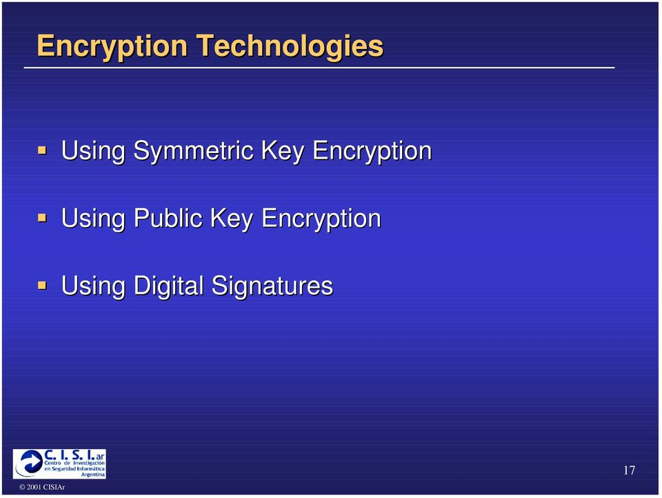 "Encryption "" Using Public"