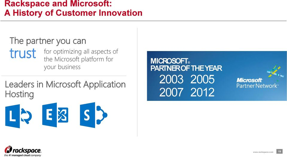 platform for your business Leaders in Microsoft Application Hosting