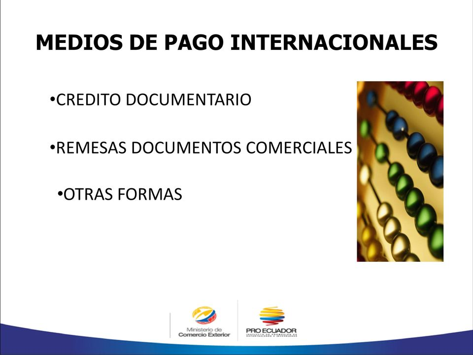 DOCUMENTARIO REMESAS