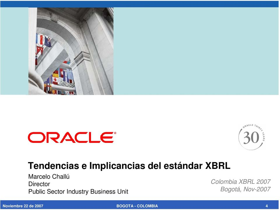 Industry Business Unit Colombia XBRL 2007