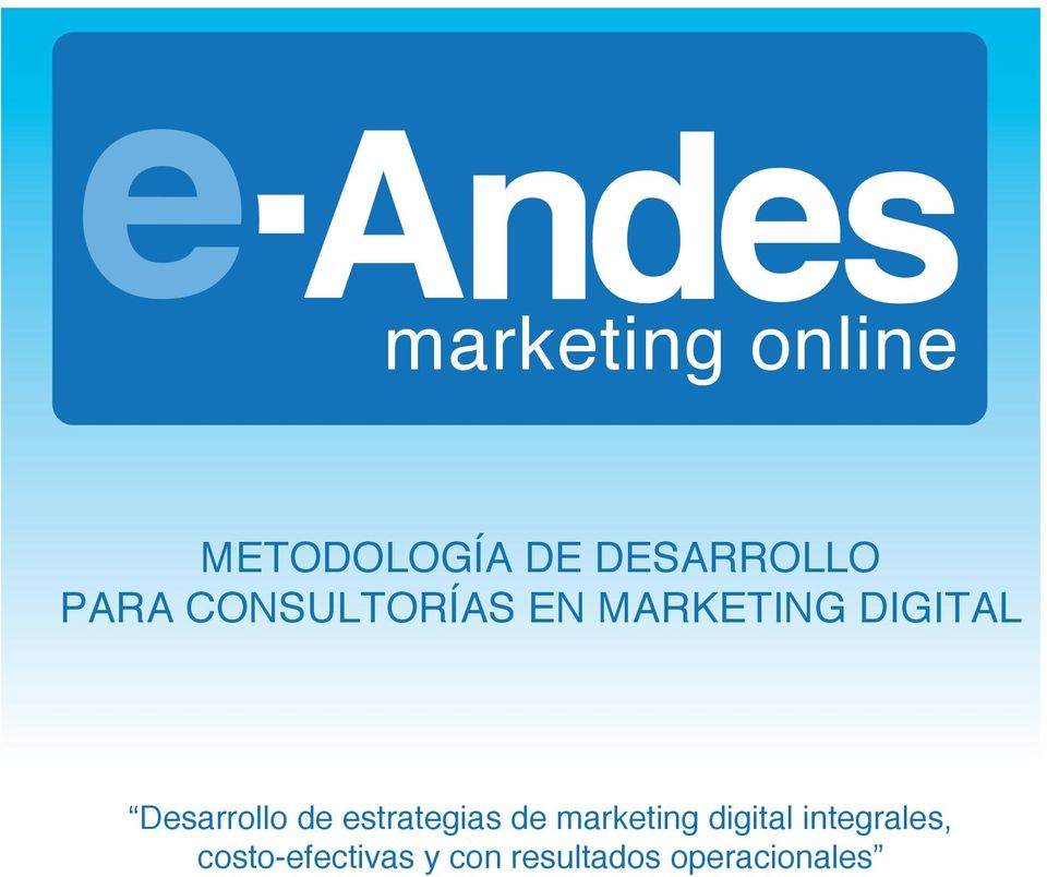 Desarrollo de estrategias de marketing