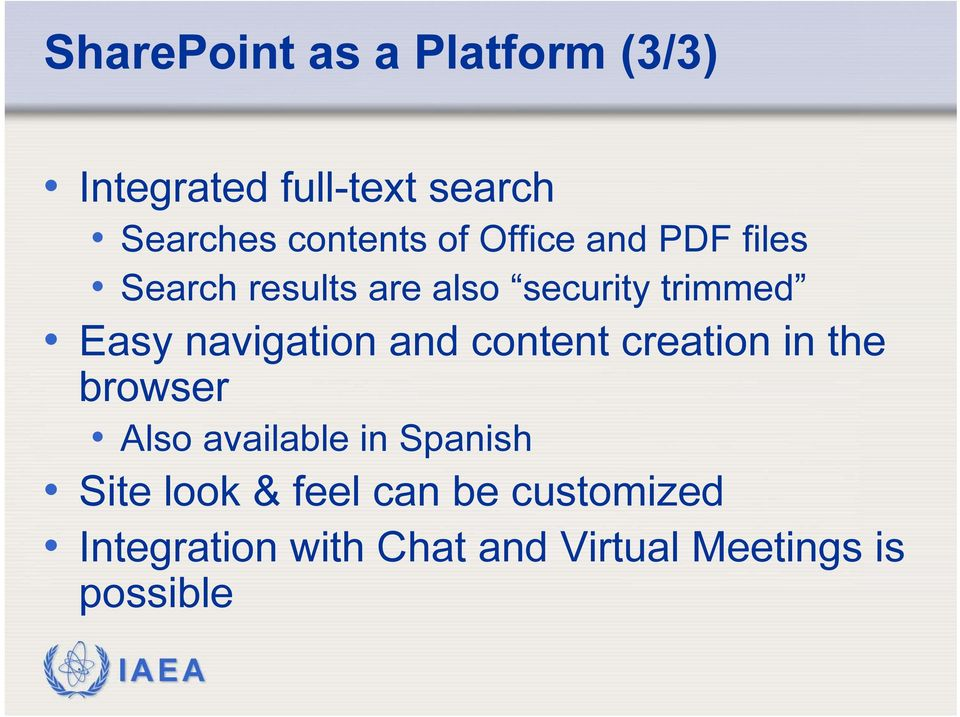 navigation and content creation in the browser Also available in Spanish Site