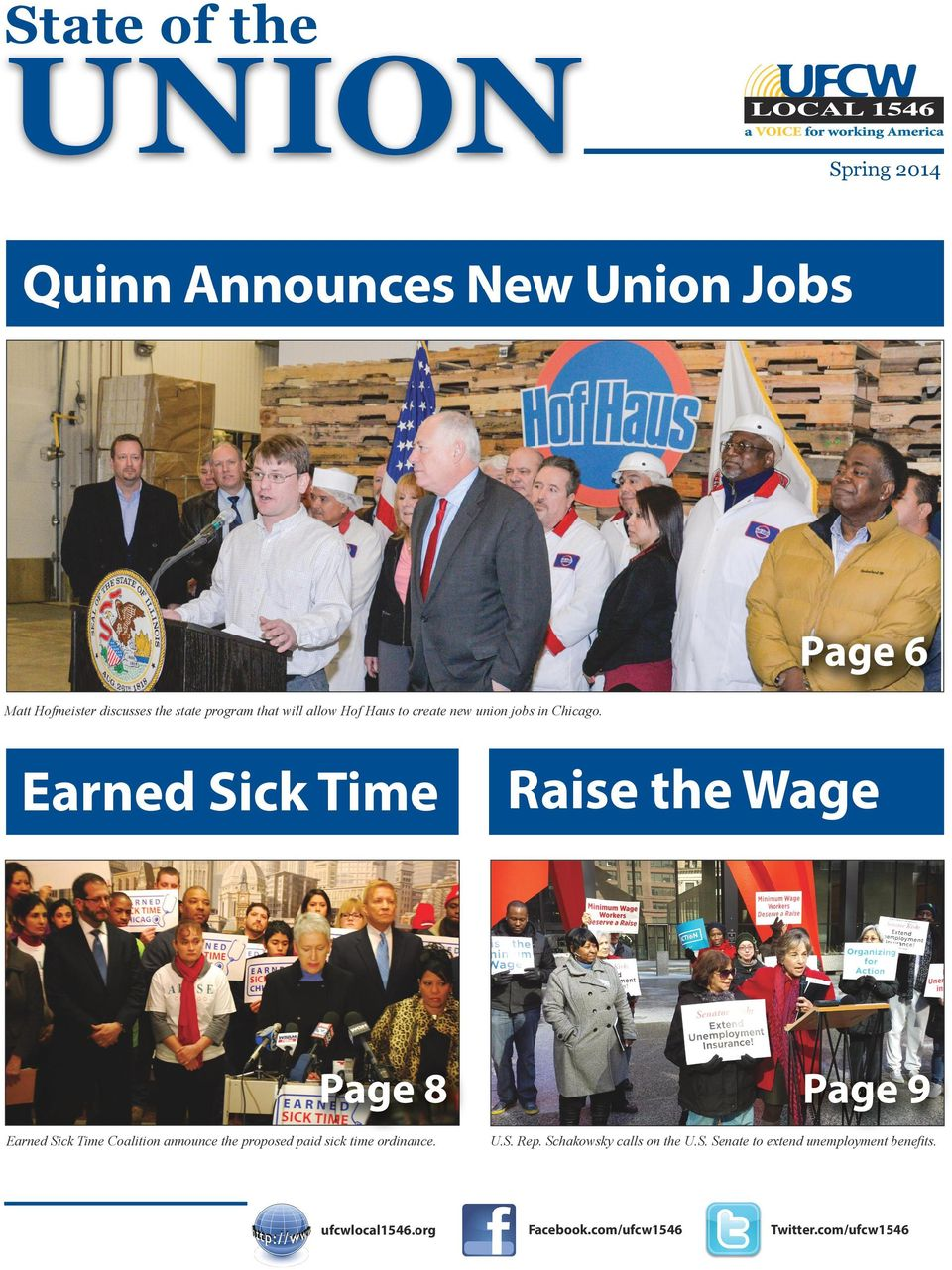 Earned Sick Time Raise the Wage Page 8 Earned Sick Time Coalition announce the proposed paid sick time