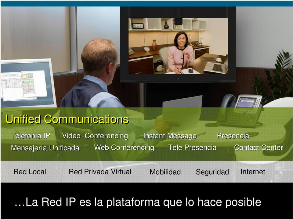 Presencia Presencia Contact Center Red Local Red Privada Virtual
