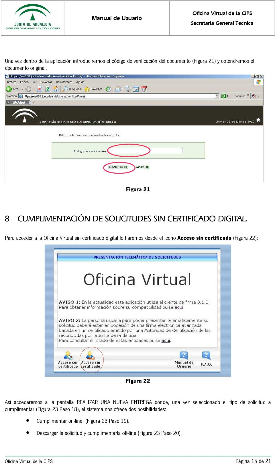 Sistema oficina virtual oficina virtual de la cips pdf for Oficina virtual ifapa