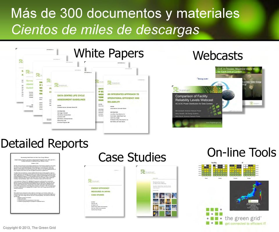 descargas White Papers Webcasts