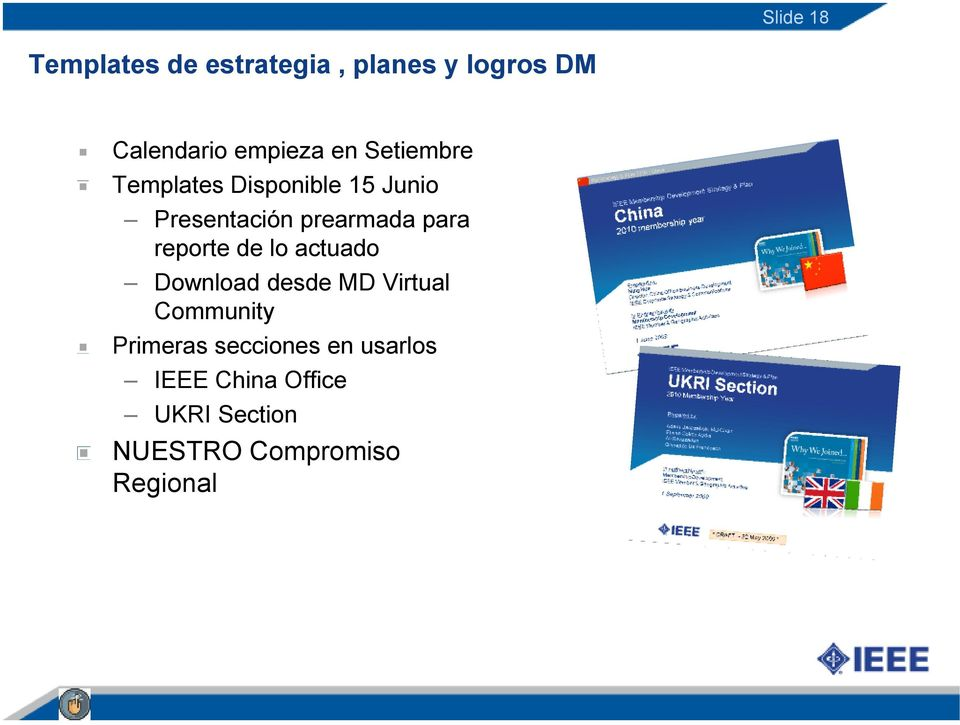 reporte de lo actuado Download desde MD Virtual Community Primeras