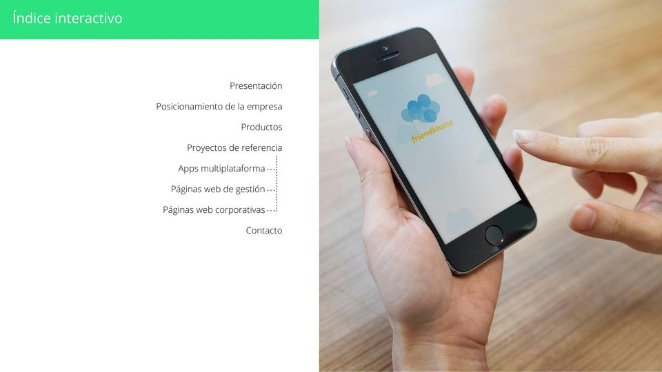 Proyectos de referencia Apps