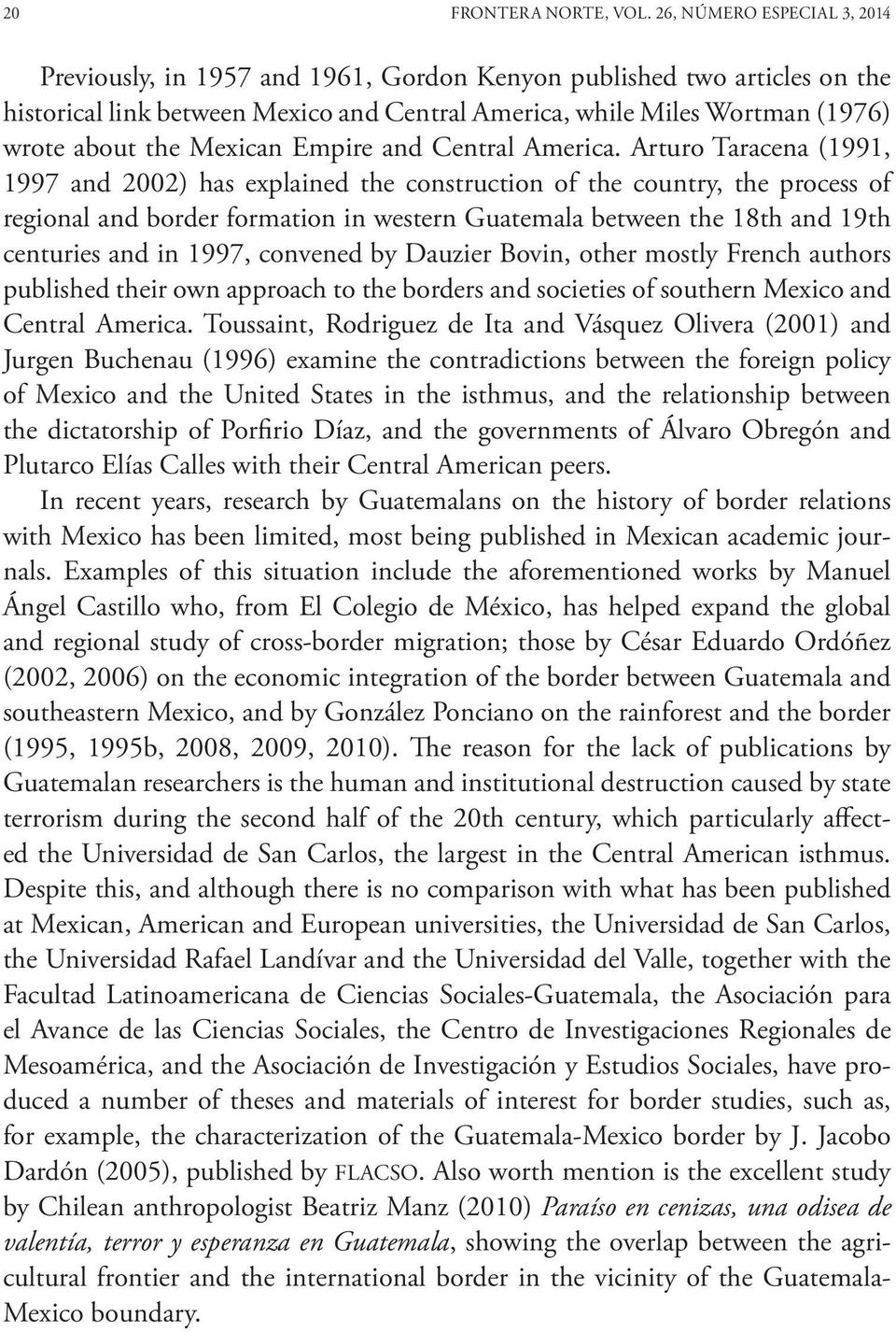 Mexican Empire and Central America.