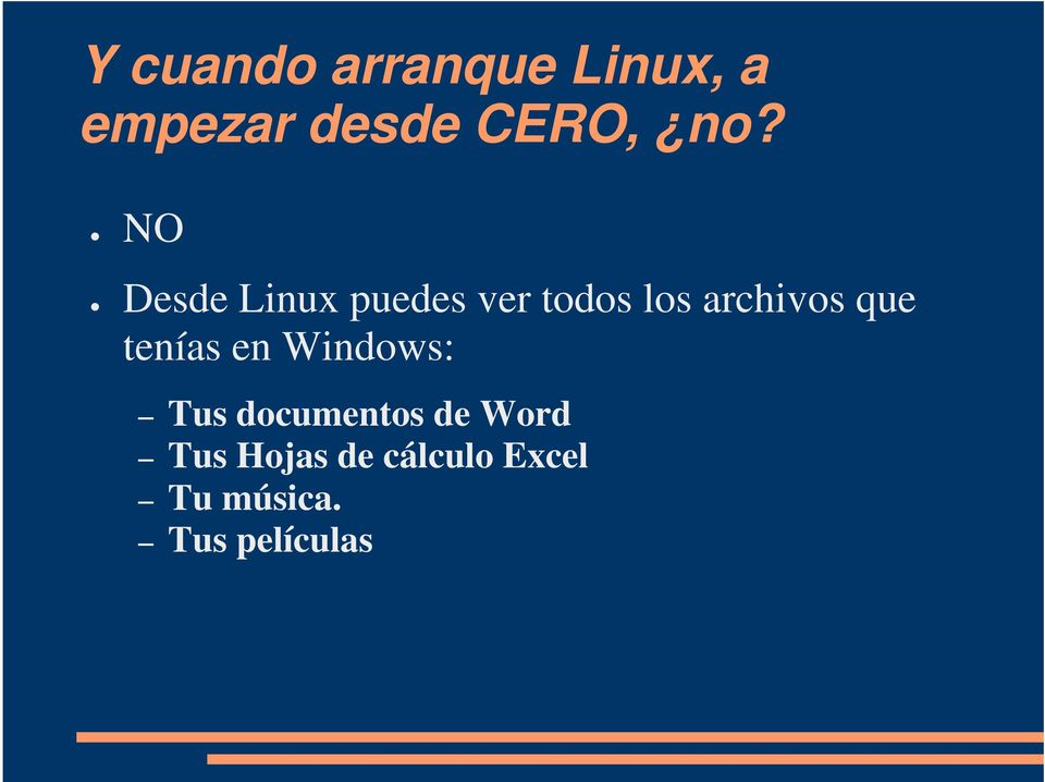 que tenías en Windows: Tus documentos de Word