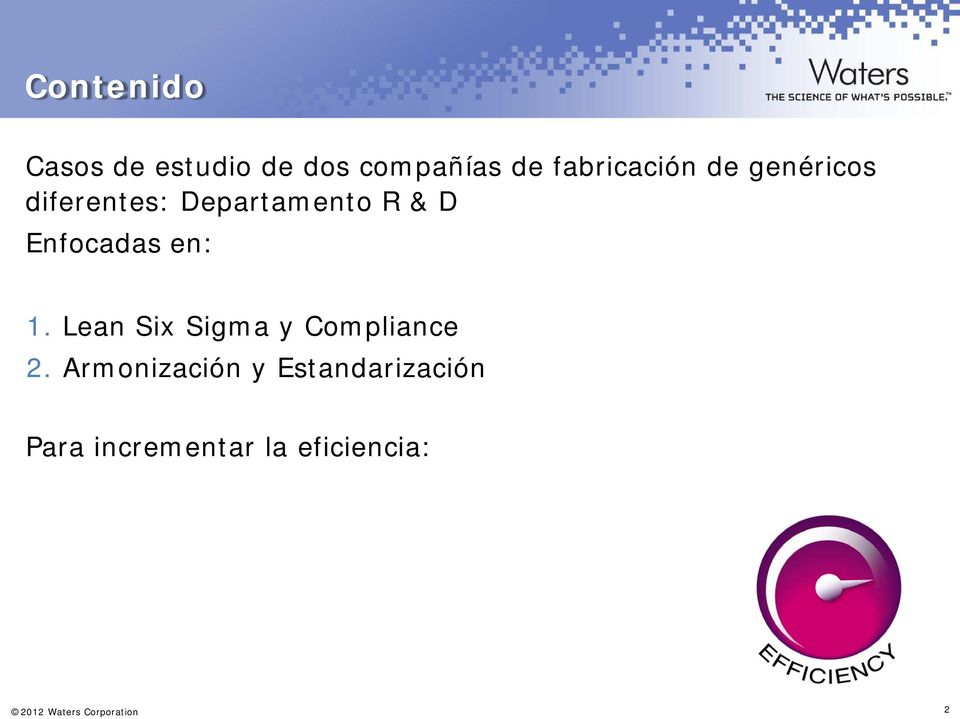 Lean Six Sigma y Compliance 2.
