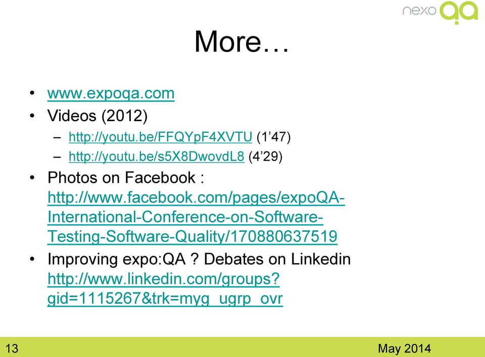 com/pages/expoqa- International-Conference-on-Software-