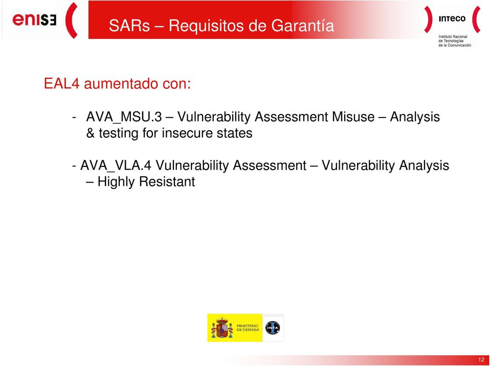 3 Vulnerability Assessment Misuse Analysis & testing