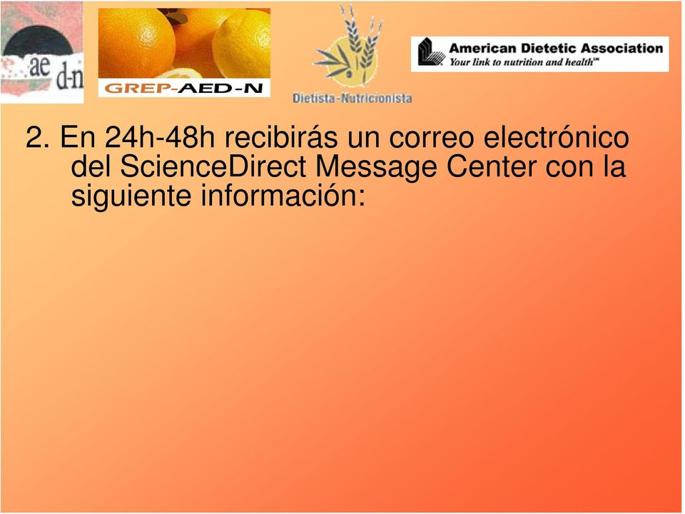 ScienceDirect Message