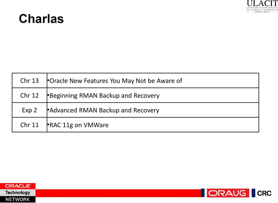 Beginning RMAN Backup and Recovery