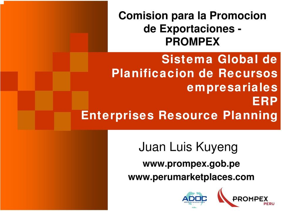 empresariales ERP Enterprises Resource Planning