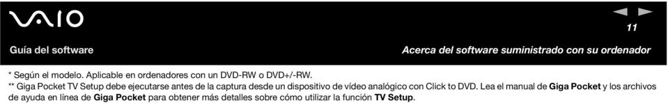 vídeo analógico con Click to DVD.