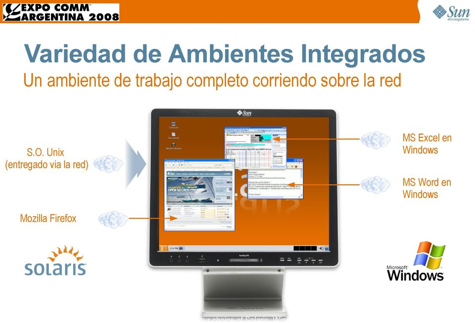Unix (entregado via la red) MS Word en Windows Mozilla Firefox Provide your
