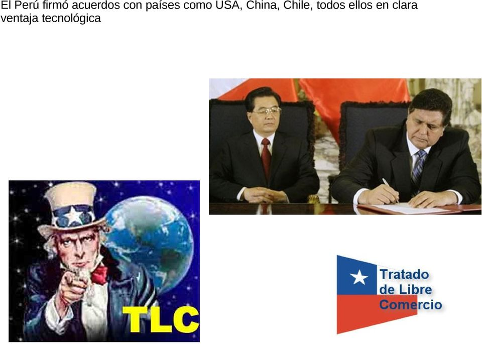 China, Chile, todos