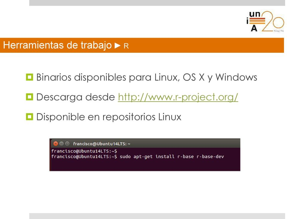 y Windows Descarga desde http://www.
