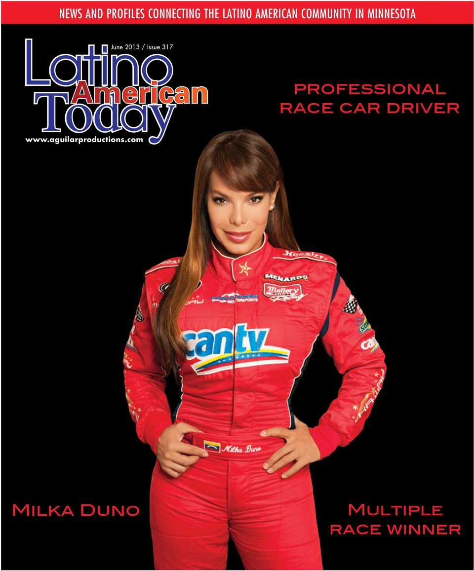 Issue 317 professional race car driver www.