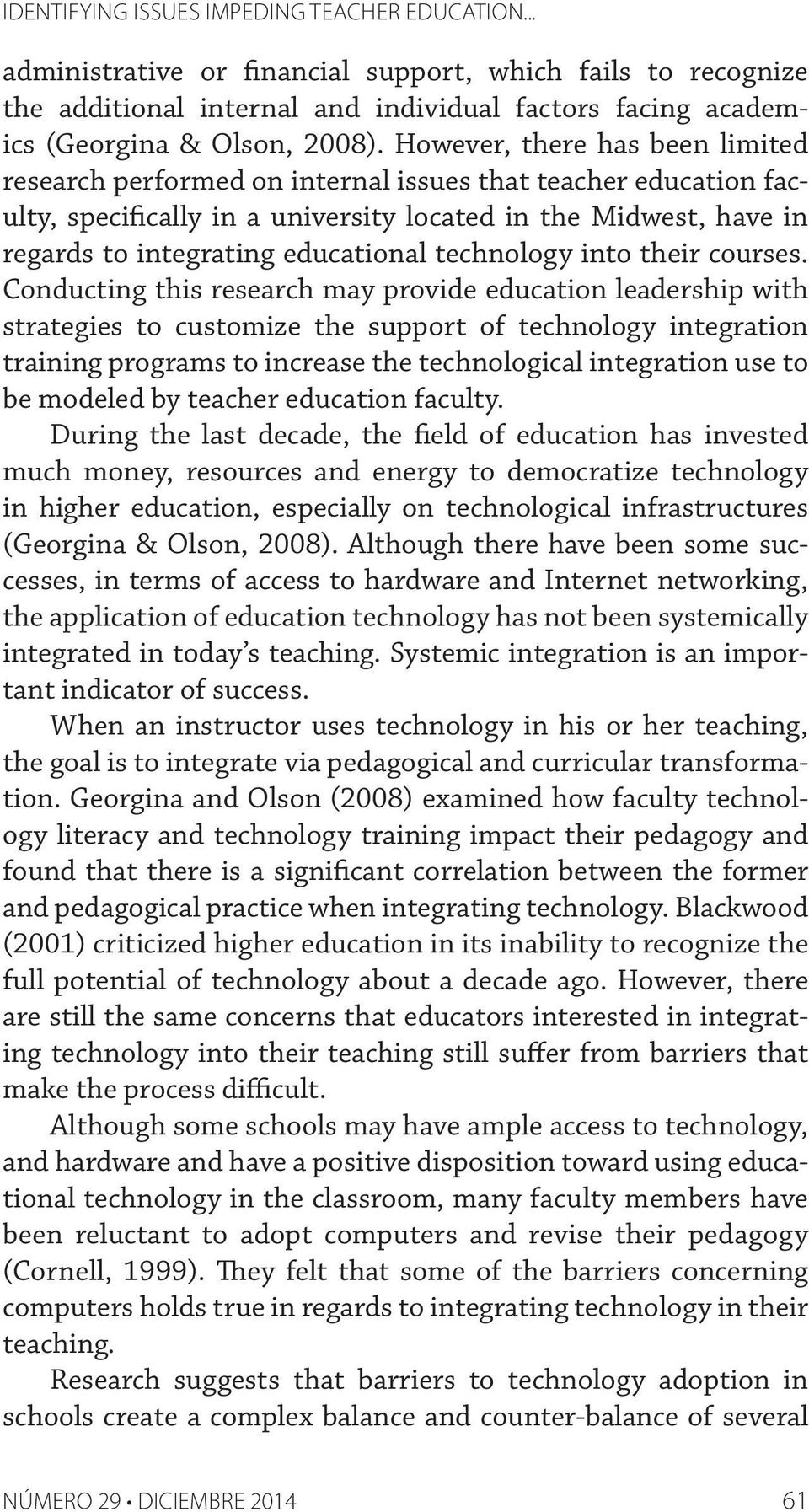 technology into their courses.