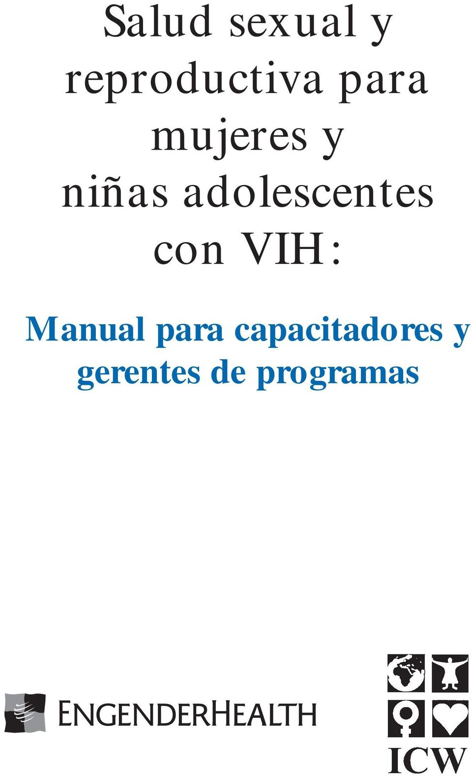 adolescentes con VIH: Manual