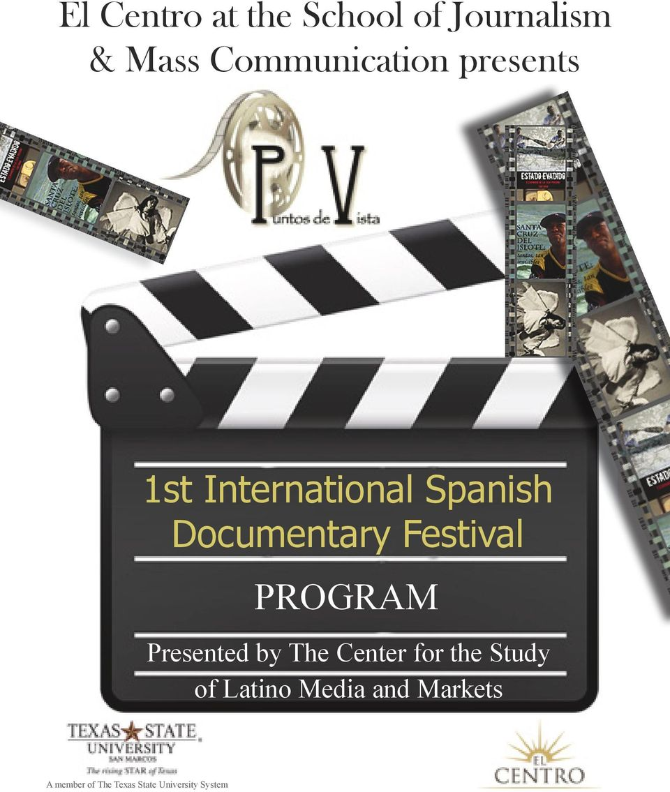 PROGRAM Presented by The Center for the Study of Latino